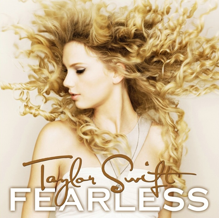 Fearless Official Album Cover Fearless Taylor Swift
