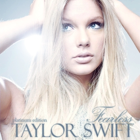 Taylor swift fearless platinum edition album cover