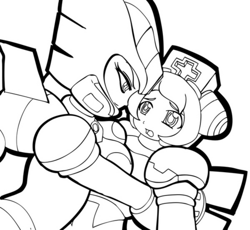 Megaman wallpaper entitled Ferham_and_Cinnamon_