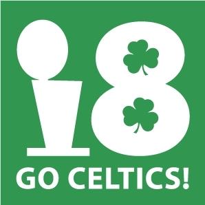 Boston Celtics Hintergrund called GO!