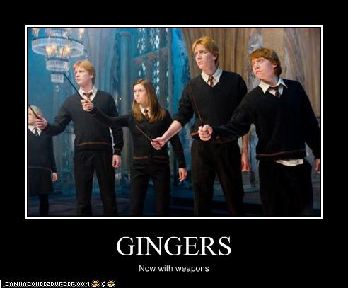 Gingers - fred-and-george-weasley Photo