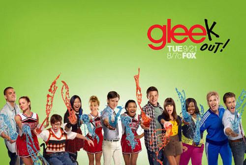 glee/グリー Slushie Poster Season 2 Promo