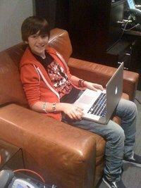 Greyson on the Computer