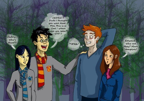 HP vs Twilight xD