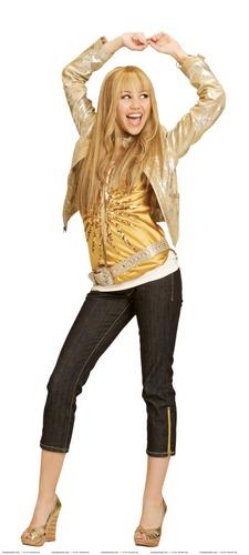 Hannah Montana 2 season Photoshoot (Golden Outfit) High Quality