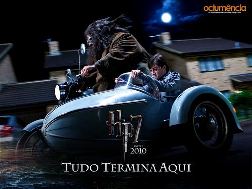 Harry Potter DH 바탕화면 의해 Oclumencia