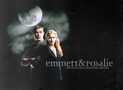 I didn't want to miss a second of the angel's face.- Emmett to Rosalie