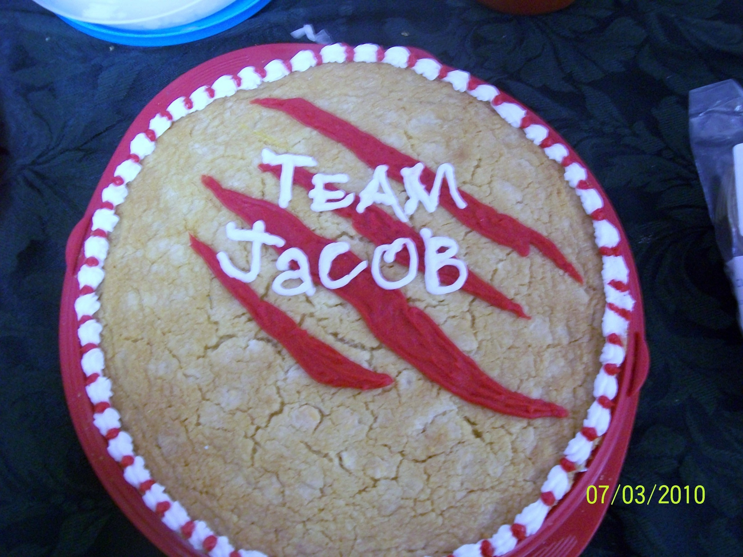 Jacob Black New Moon Cake