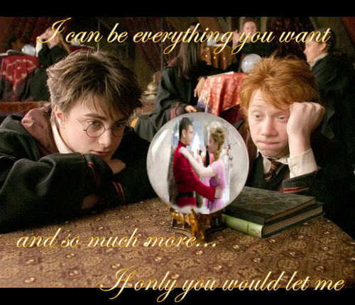 Jealous Ron