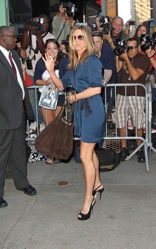 Jennifer Arriving @ ABC Studios