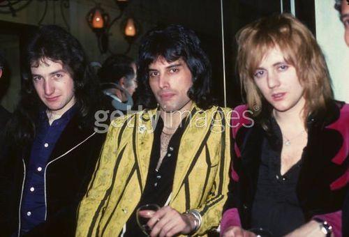 John, Freddie and Roger
