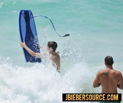 Justin Bieber in Barbados