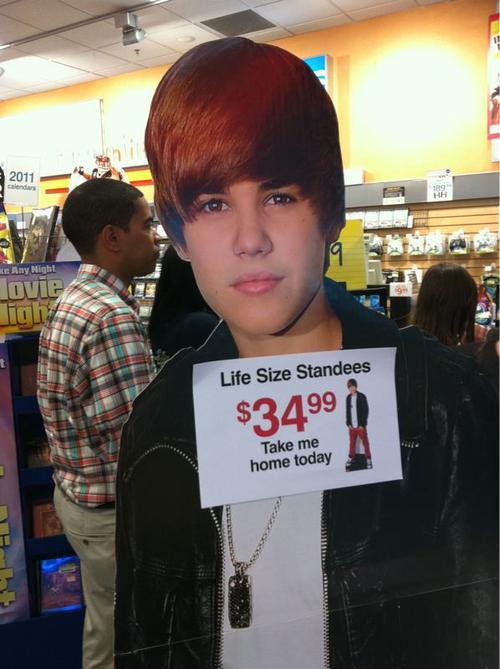 bieber funny. Justin Bieber item XD (FUNNY)