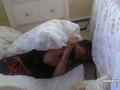 Justin Bieber sleeping <3