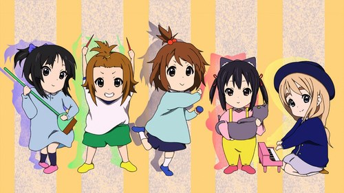 K-ON! wallpaper entitled K-ON!