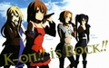 K-On!! Is Rock!! - k-on wallpaper
