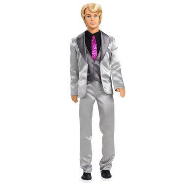 Ken doll.