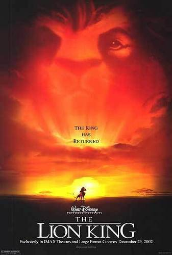 películas animadas fondo de pantalla called Lion King posters