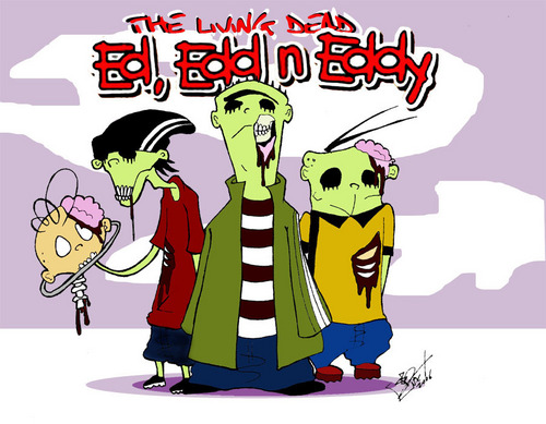 Ed, Edd and Eddy wallpaper called Living death