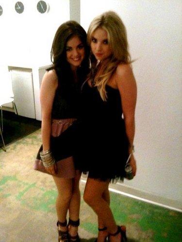 Lucy & Ashley.