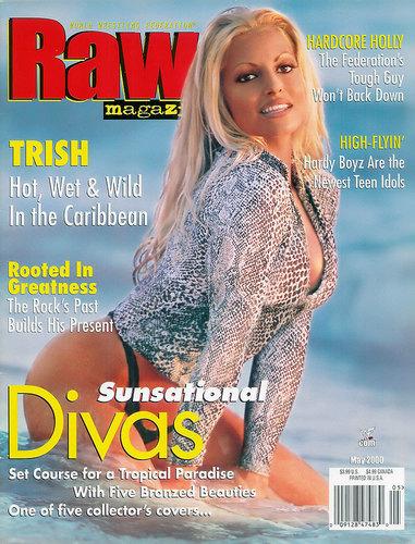 트리시 스트래터스 바탕화면 entitled Magazine Covers
