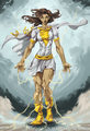 Mary Marvel - femme-fatales fan art