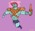 Masters of the Universe - he-man fan art