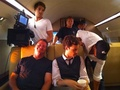 Matthew & Crew in BAU Plane