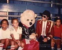 Michael with his nephews 3T