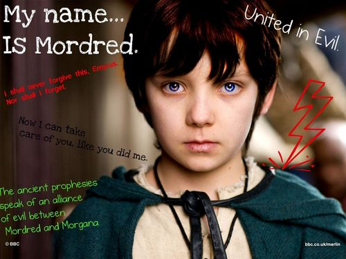 Mordred has great eyes to edit ^^