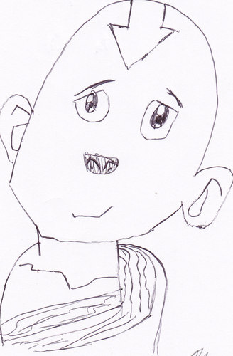 My Aang Drawling