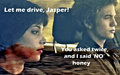 No, honey, you can't drive! - twilight-series photo