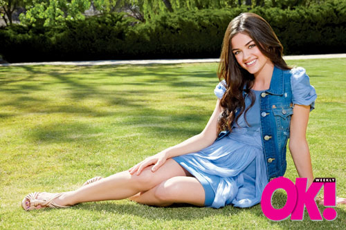 OK! Weekly (Lucy Hale - June 2010)