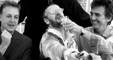 Paul, Ringo and George