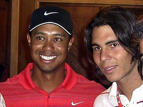 Rafa and Tiger Woods: both were unfaithful?