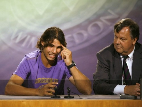 Rafa and his translator!