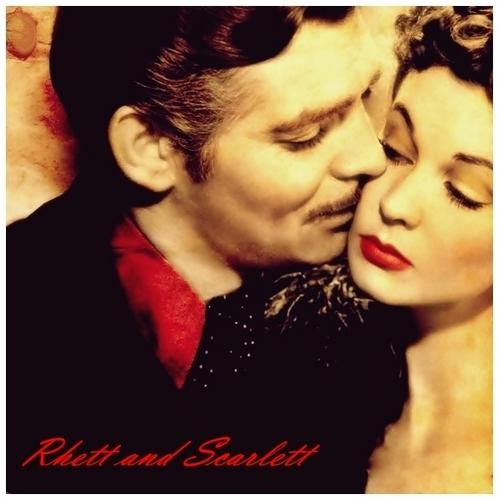 Vivien Leigh wallpaper called Rhett and Scarlett
