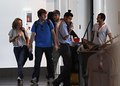 Rob and Kristen arriving in LAX - twilight-series photo