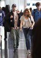 Rob and Kristen leaving Montreal - twilight-series photo