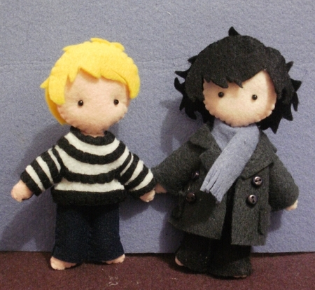 Sherlock and John Plushies - sherlock-on-bbc-one Photo
