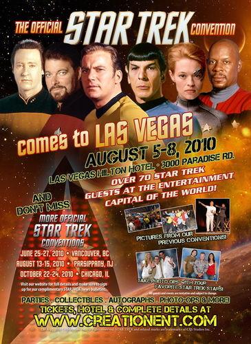 ngôi sao Trek Las Vegas 2010 - Official Poster