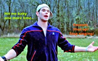 Stop singing, Emmett!