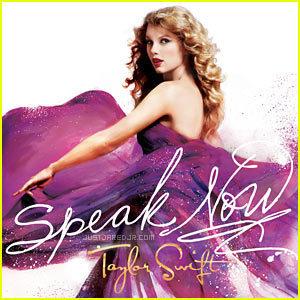Taylor Swift: 'Speak Now' Album Cover!
