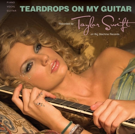 Teardrops On My Guitar [Official Single Cover] - Taylor 450x446