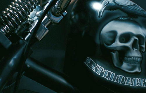 The Expendables bike