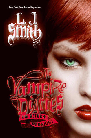 The cover of the susunod and final book Vampire Diaries The Return: Midnight