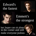 The fastest & the strongest... - twilight-series photo