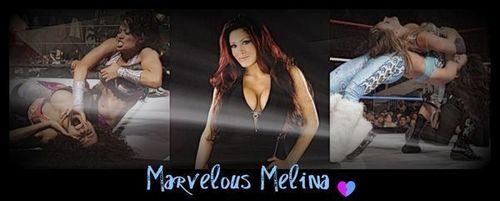 Melina Perez Hintergrund called Triple Melina