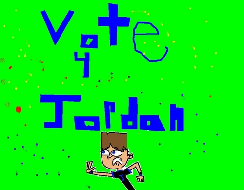 VOTE FOR JORDAN TO WIN TOTAL DRAMA AWSOMENESS!!!!!!!!!!!
