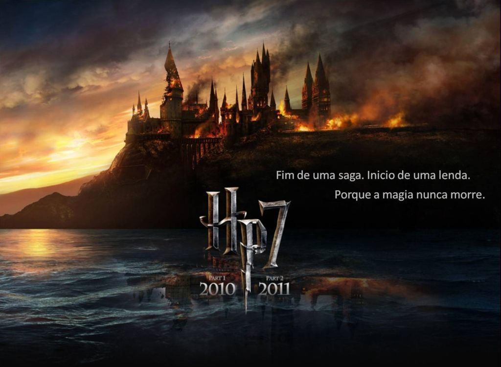 Wallpaper Papel De Parede Harry Potter E As Reliquias Da